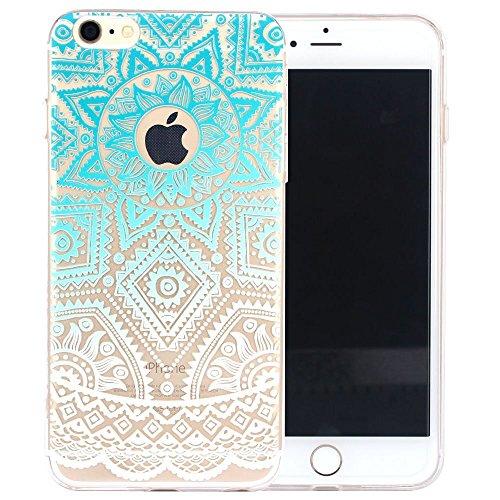 ARTLU® Neue Modelle TPU Silikon Schutz Handy Hülle Case Tasche Etui Bumper für Apple iPhone 6 plus 6S plus - Henna Series Apple W14 W1