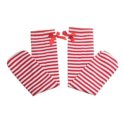 koly-ninos-calcetines-de-rodilla-del-patron-ninos-calcetines-altos-pare-anos-rojo