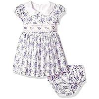 فستان بناتي مع سروال داخلي بخصر واسع من Bonnie Baby Girls بنفسجي 24 شهر