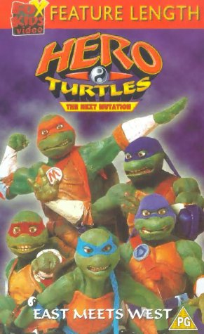 Hero Turtles the Next Mutation [VHS]