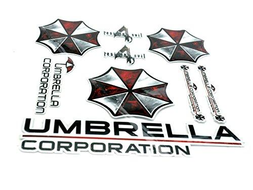 Preisvergleich Produktbild Umbrella Corporation Biohazard Resident Evil Auto Aufkleber Decal Legen Zwei
