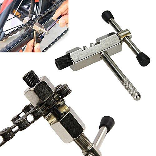 hoyoo Fahrrad Kette Splitter Cutter Entferner, Bike Chain Breaker Repair Tool, Fahrrad Kettennieter Pin Klinkenbuchse