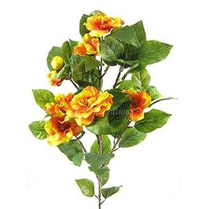 2 seda Artificial flor de la camelia (71,12 cm) aerosoles de GT decoraciones