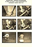SCHIRMSTOCKHALTERUNG - 5 fach im Radius verstellbare MULTIHALTERUNG - MIT EDELSTAHLKONUS - 360 ° drehbare GVC ® HALTERUNG zur Befestigungen von STÖCKEN bis Ø 42 mm an runden oder eckigen Elementen von Ø 25 bis ca. Ø 55 mm - Made in Baden-Württemberg - INNOVATIONEN MADE in GERMANY - Holly ® Produkte STABIELO - MIT GUMMISCHUTZKAPPEN zur kratzfreien BEFESTIGUNG - holly-sunshade ® - holly mobiler Sonnenschutz-mobile sunshade holly ® - VIDEO: https://vimeo.com/249523750 -