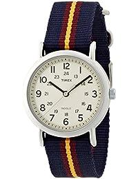 Timex Weekender Analog Beige Dial Unisex Watch - T2P234