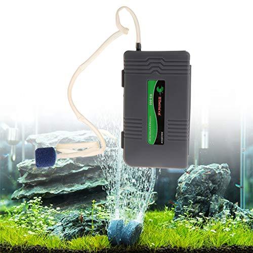 Cuigu Sauerstoffbelüfter mit Aquarium, tragbar, mit Batterie