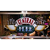 Serie F.R.I.E.N.D.S. Iman para la nevera del CENTRAL PERK. La cafeteria donde pasaban divertidos ratos los protagonistas de FRIENDS: TV Show Central Perk . Fridge magnet.