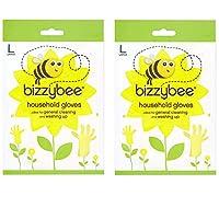 BizzyBee Household Gloves 1 Pair Pack Of 2