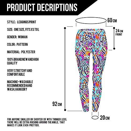 HDYS Quotidiana Delle Donne Stampa Leggings Leisure Home Pantaloni lga43478