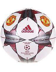 Adidas Finale 15MUFC–Ballon de football, blanc/rouge/argent/noir