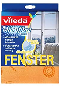 Vileda Microfaser Glas- & Fenstertuch - 4er Pack