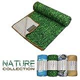 Yogabum la Collezione Natura Antiscivolo Asciugamani Yoga Mat (Erba)