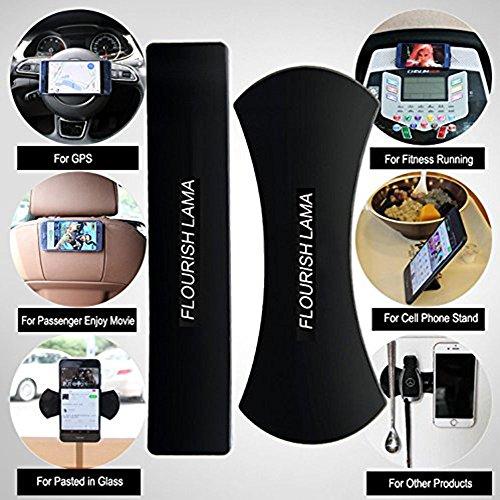 2Stück Mehrzweck-Nano Sticky Gel-Pads für Halter KFZ Halterung Handy Mats Büro Halterung Pods Küche Wand Aufkleber