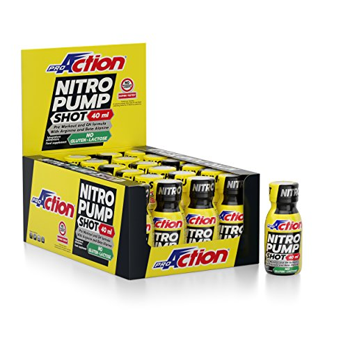 Nitro Pump Shot - confezione da 24 flaconcini da 40 ml