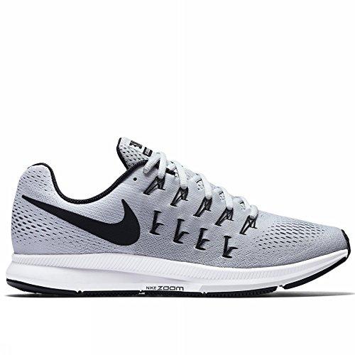 Nike Air Zoom Pegasus 33 TB, Zapatillas de Running para Hombre, Plateado (Pure Platinum/Black-White), 46 EU