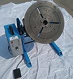 MXBAOHENG Posicionador de Soldadura de la Capacidad Carga con Mandril de 200 mm 1-15r / min HD-50 50KG