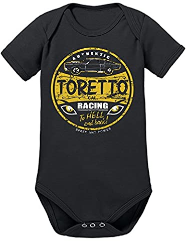 Touchlines Toretto Racing 2 Fast 2 Furious, Body Mixte Bébé,