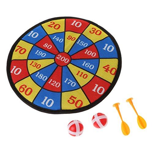 FXCO Stoff Dartscheibe Set Sport Spielzeug Kid Ball Target Game Für Kinder Sicherheit Spielzeug