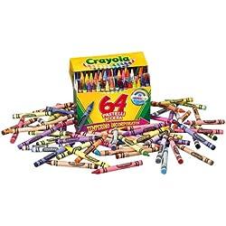 Crayola - Juego de ceras de colores (64 unidades)