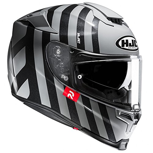 Preisvergleich Produktbild HJC RPHA 70 forvic Full Face Touring Motorrad Helm Deckel – Schwarz MC5