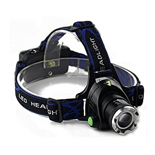 Xumarket(TM) Alonefire Hp79 Head Light Head Lamp Cree Xm-L T6 Led 2000Lm Rechargeable Headlamps Headlights Lamp Lights +18650 Battery Charger