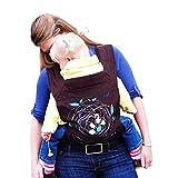 Adatto ai Bimbi 3.6-15.9 Kg Marsupio Fascia Porta Bebè Neonati Bambini Baby Wrap Cotone 97%