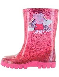 Peppa Pig Gretsky Wellies Pink Various Sizes
