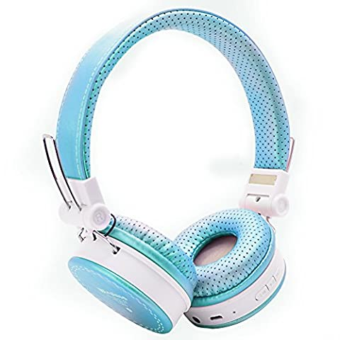 Votones Wireless Headphones for Kids Adults Wireless/Wired Stereo Over-ear HD