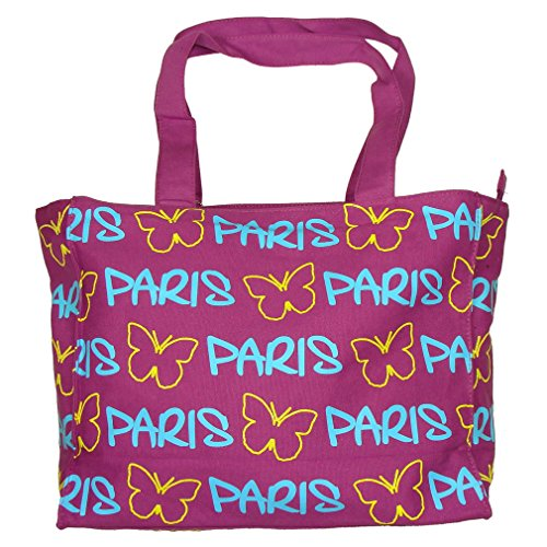 Sac Shopping Paris 'Papillon' Robin Ruth - Violet