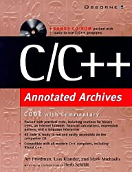 C/C++ Annotated Archives, w. CD-ROM