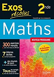 Maths 2de, exos résolus