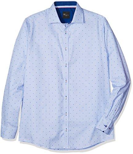 Venti 172662400, Chemise Business Homme Blau (Blau 100)