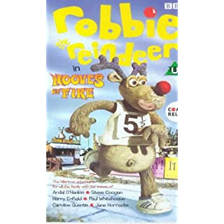 Robbie The Reindeer: Hooves Of Fire [VHS] [1999]