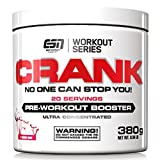 ESN Crank - Pre Workout Booster - Fresh Berry Juice - 1er Pack (1 x 380g)