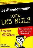 Management, poche pour les nuls - First Editions - 18/02/2004