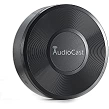 ieast Audio Cast Music adaptador WLAN (Streaming Servicios, radio por internet), color negro