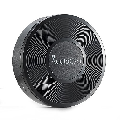ieast Audio Cast Music Adaptador WLAN (Streaming Servicios, Radio por Internet), Color...
