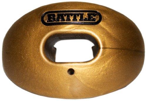 Unbekannt Schlacht Sauerstoff Lip Displayschutzfolie Mundschutz, Unisex - Erwachsene, Gold-metallic, Einheitsgröße