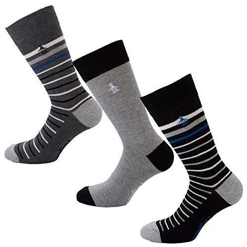 herren-3-pack-socken-geschenk-set-in-grey-set-kommt-mit-3-paar-socks-2-paar-gestreift-1-paar-gr-40-4