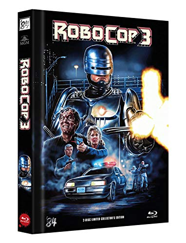RoboCop 3 - 2-Disc Limited Collector's Edition - Uncut - Mediabook, Cover C (+ DVD) [Blu-ray]