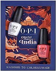 OPI Color Chaos of India - Kashmir To Color-Kumari (Set of 2 x 15ml Nail Polish)
