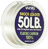 Varivas Shock Leader 100% Fluorocarbon - 30m - 50Lbs - 0,63mm - 22,6Kg