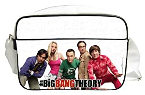 Sac Bandoulière 'The Big Bang Theory' - Personnages Blanc