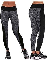 Oyedens Las mujeres se divierte los pantalones de las polainas del Athletic Gym Yoga Fitness Workout Pantalones