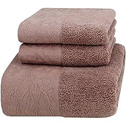 Feste hogar algodón juego de toallas, toallas de lujo de baño, Le Royal Feeling, 680 GSM suave y cómodo.