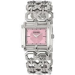 Versus Moda Ladies Silver Stainless Steel Watch SGE010012