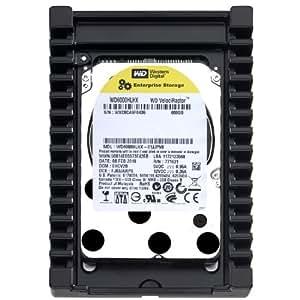 Western Digital WD6000HLHX VelociRaptor 600GB interne Festplatte (8,9 cm (3,5 Zoll), 10000rpm, 3,6ms, 32MB Cache)