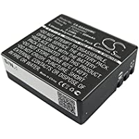 CS-SDX400MC Batteria 900mAh [MYPHONE] Active Sport FHD, [SJCAM] DX 288812, DX 288813, SJ4000, Sports Cam A8, Sports Cam W7, Sports Cam W8, [EKO] Full HD 1080p Wifi, HD 720p, Ultra HD 4K Wifi, [EKEN] H8, H8 Pro, H8R, H9, H9R, [QUMOX] SJ4000, [EVOLVEO] Sportcam A8 sostituisce BR-01, PG1050, SJ4000B