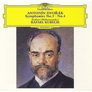 Dvorak:Symphonies No.3&4 [Import allemand]