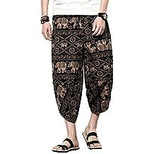 Pantalones Bombachos para Hombre y Mujeres como Rropa Hippie Alternative y  Pantalones Cagados Estilo Harem 3ec1471e5e5e